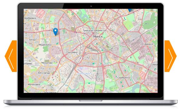 GPS-Trace Orang