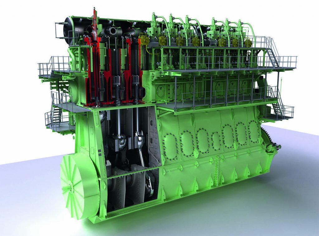 Контроль топлива в судовом двигателе