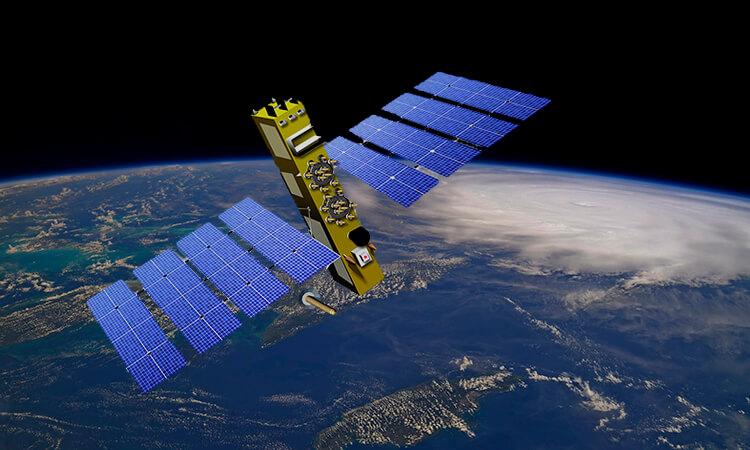 Спутниковая российская система ГЛОНАСС